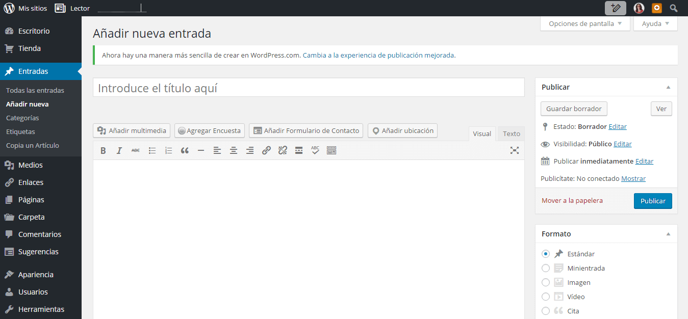 tutorial wordpress paso 3
