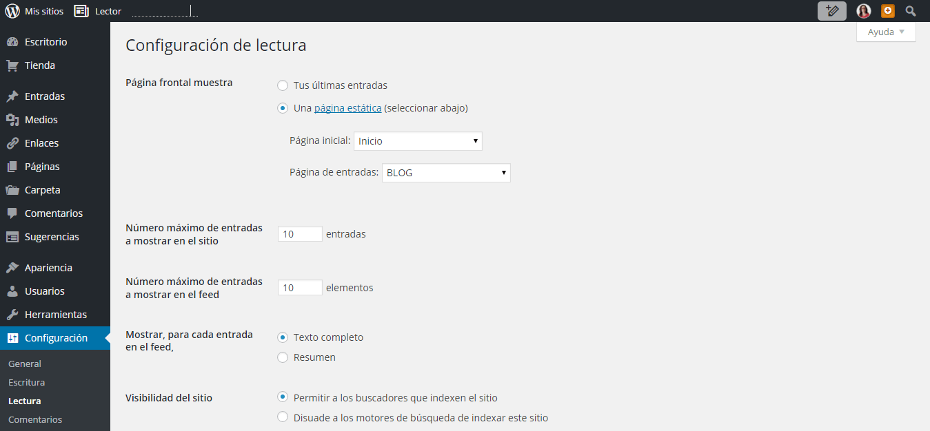 tutorial wordpress paso 4
