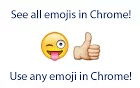 emoji extension chrome