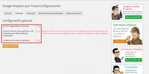 Cómo configurar Google Analytics by Yoast 2