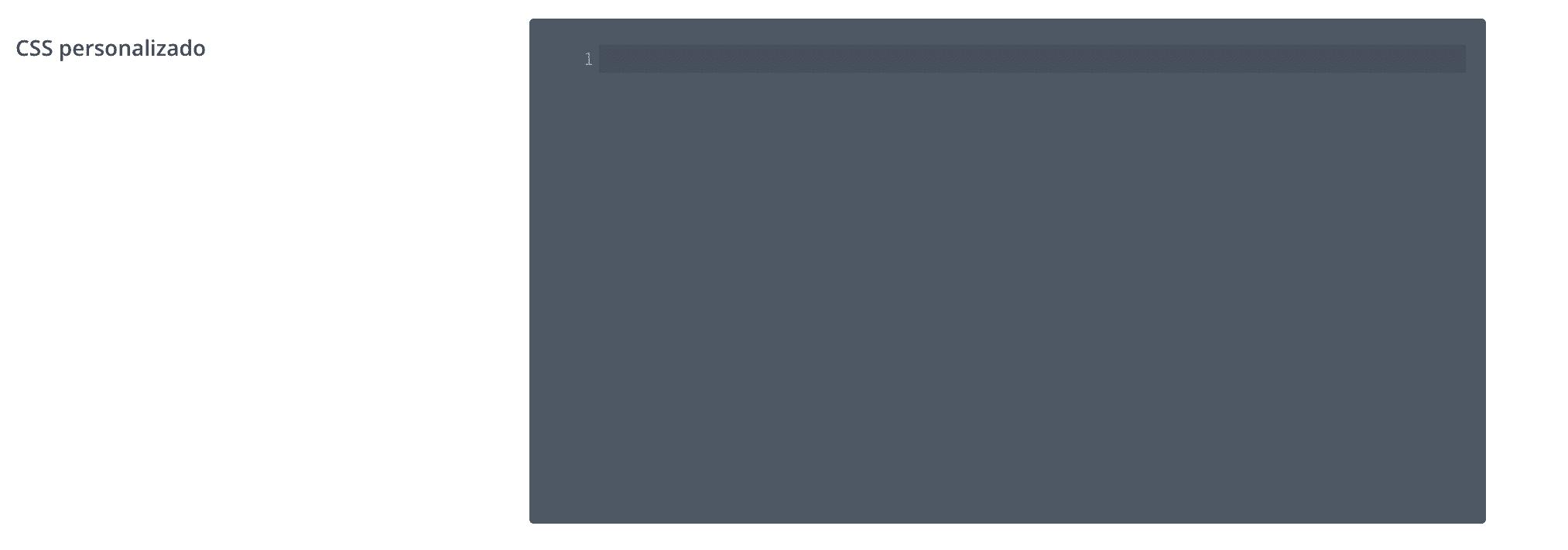 CSS personalizado Divi